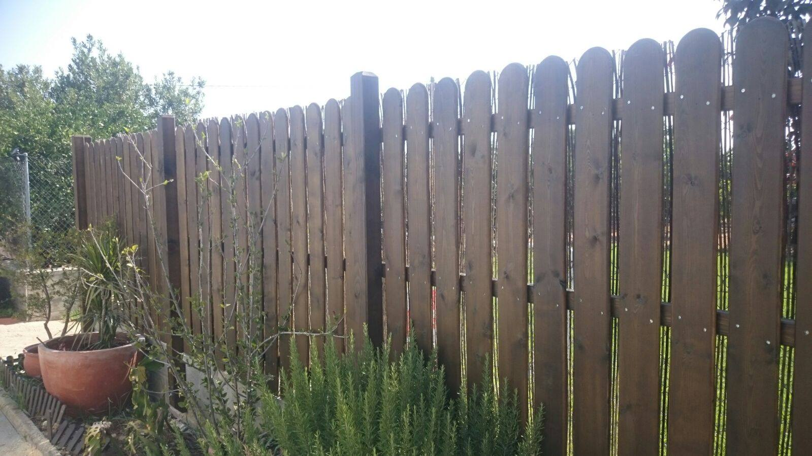 Vallas y cercados maderas madesur for Cercados jardin