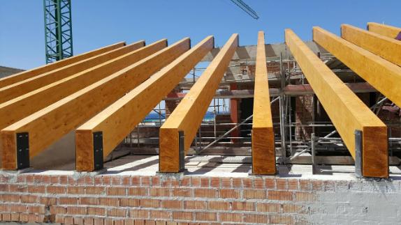 Ltimos trabajos maderas madesur - Vigas de madera en valencia ...